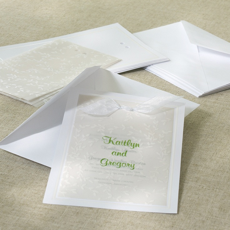 Best ideas about DIY Invitations Kits . Save or Pin 25 best ideas about Diy wedding invitation kits on Now.