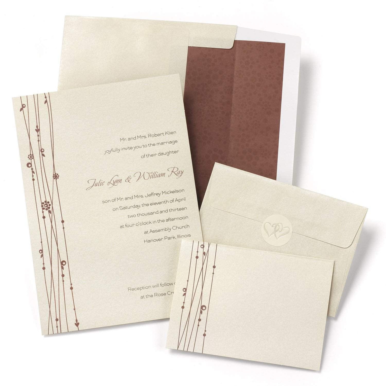 Best ideas about DIY Invitations Kits . Save or Pin Top 10 Best Cheap DIY Wedding Invitations Now.
