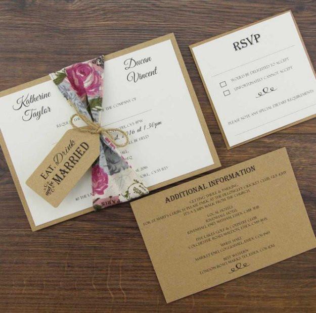 Best ideas about DIY Invitations Kits . Save or Pin DIY Wedding Invitation Kits DIY Ready Now.