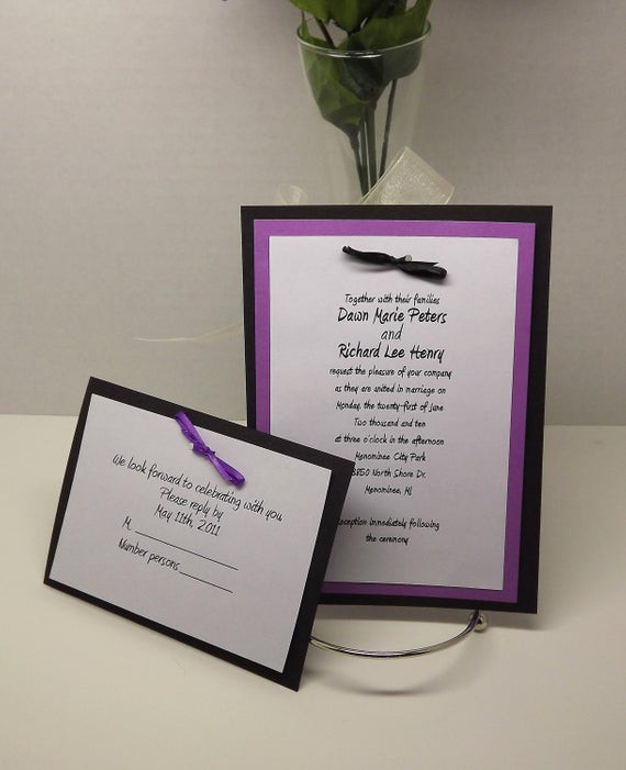 Best ideas about DIY Invitations Kits . Save or Pin DIY Wedding Invitation Kits with Invitations RSVP and Now.
