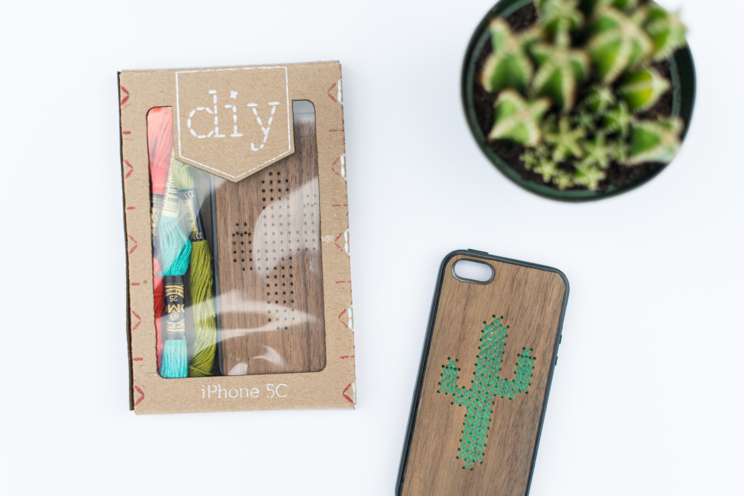 Best ideas about DIY Iphone Case Kit . Save or Pin diy embroidery iphone case kit by SavvieStudio on Etsy Now.