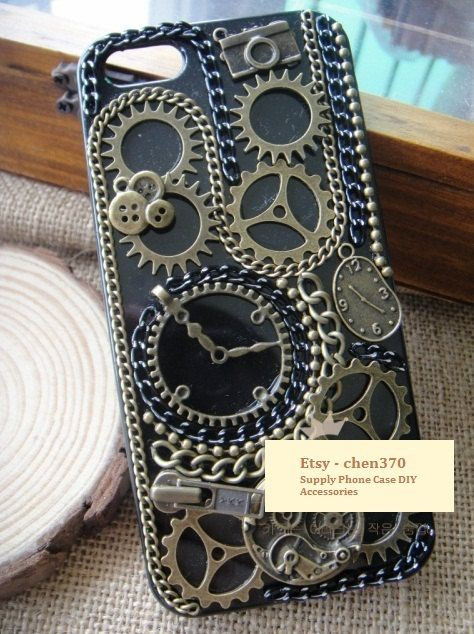 Best ideas about DIY Iphone Case Kit . Save or Pin The Time Machine DIY Phone Case Deco Den Kit Free by Now.