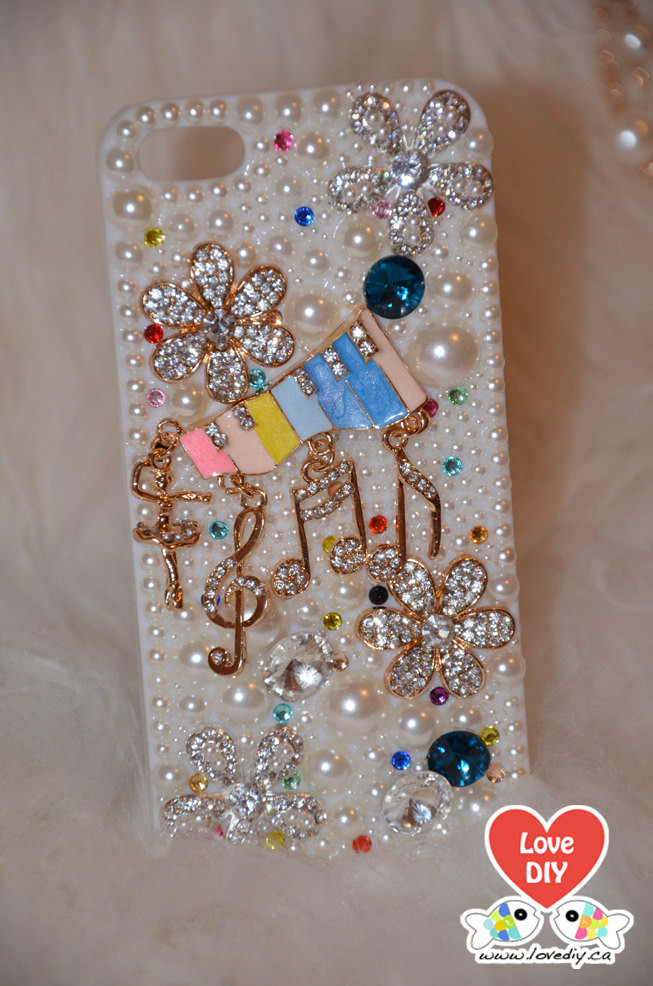 Best ideas about DIY Iphone Case Kit . Save or Pin Bling Bling Phone Case DIY Kit Bling iPhone Case Bling Now.