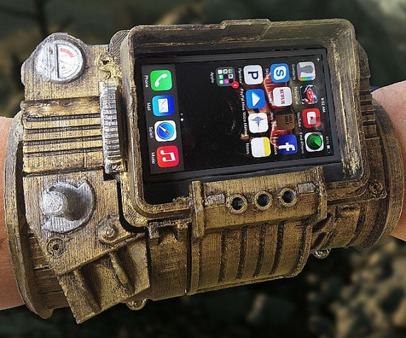 Best ideas about DIY Iphone Case Kit . Save or Pin pipboy 3000 DIY phone case Now.
