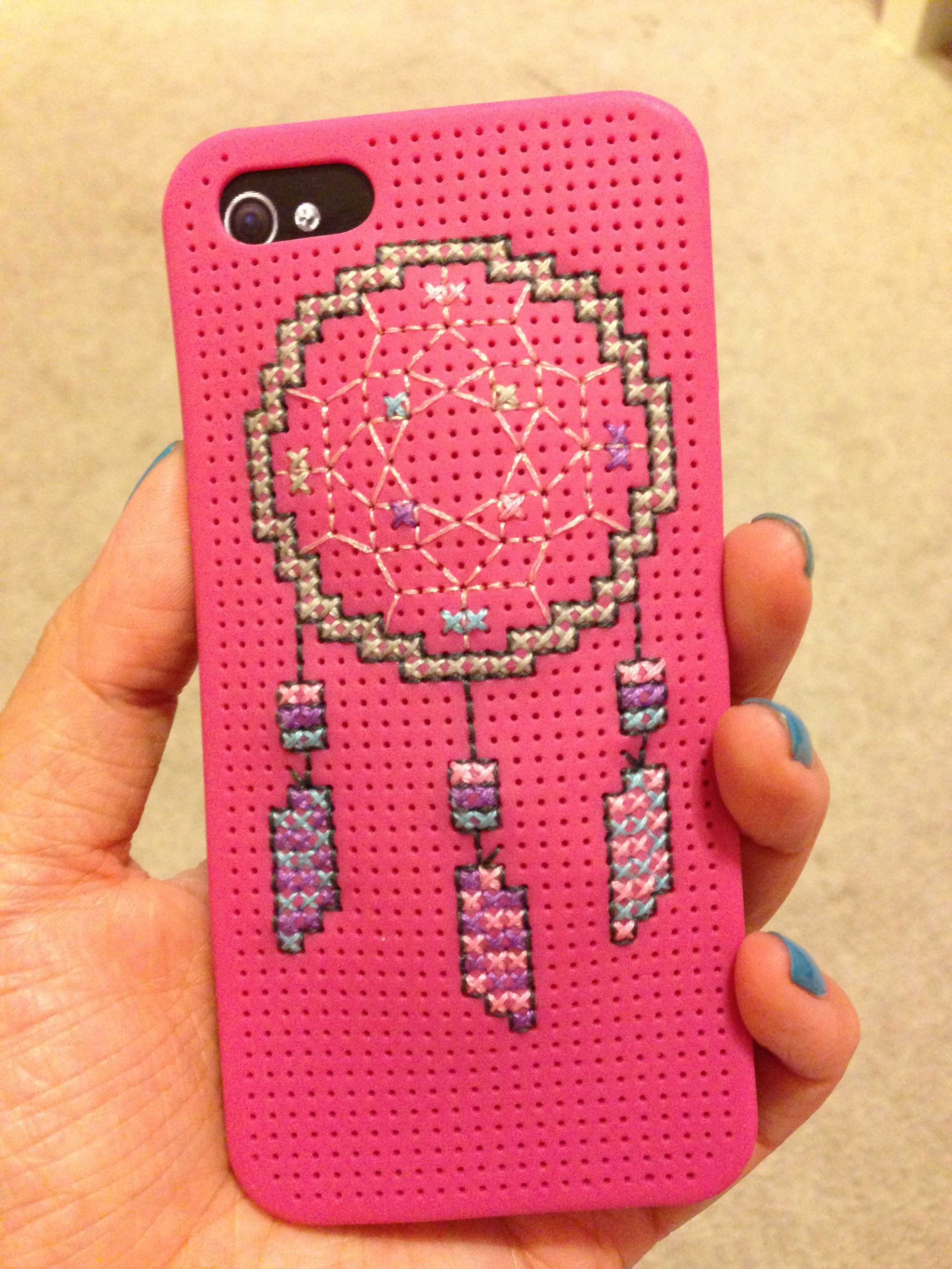 Best ideas about DIY Iphone Case Kit . Save or Pin DIY cross stitch iPhone case Download the hobby lobby app Now.