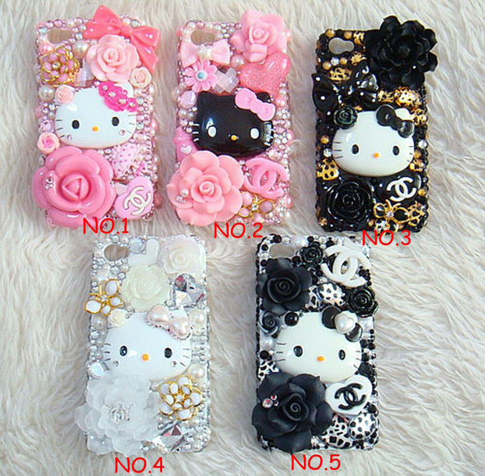 Best ideas about DIY Iphone Case Kit . Save or Pin 5 Colors New Style Hello Kitty DIY Deco Kit For Cell Phone Now.