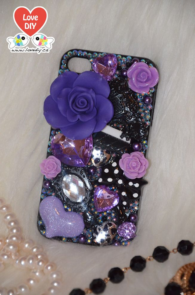Best ideas about DIY Iphone Case Kit . Save or Pin 23 best Bling Bling iPhone Case DIY Kit images on Now.