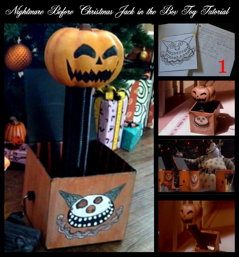 Best ideas about DIY Jack In The Box . Save or Pin DIY Nightmare Before Christmas Halloween Props Nightmare Now.