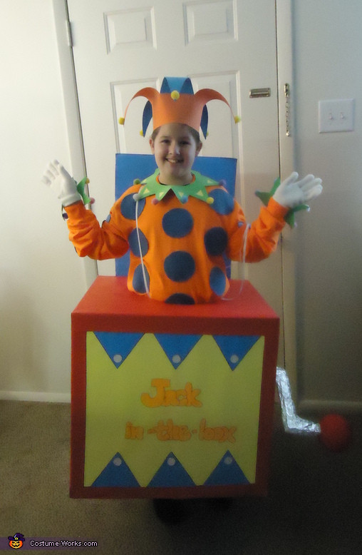 Best ideas about DIY Jack In The Box . Save or Pin Jack in the Box Halloween Costume Now.