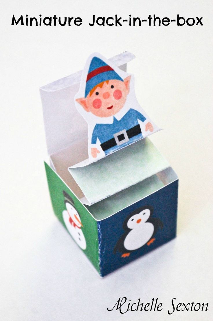 Best ideas about DIY Jack In The Box . Save or Pin diy holiday jack in the box For the kiddos Now.