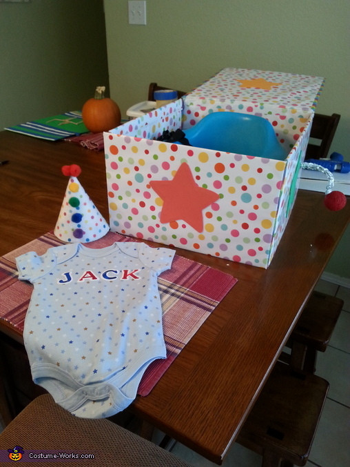 Best ideas about DIY Jack In The Box . Save or Pin DIY Jack in the Box Baby Costume 3 3 Now.
