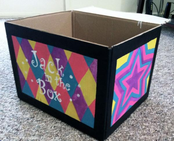 Best ideas about DIY Jack In The Box . Save or Pin Halloween DIY Jack in the Box Costume Lauren Conrad Now.