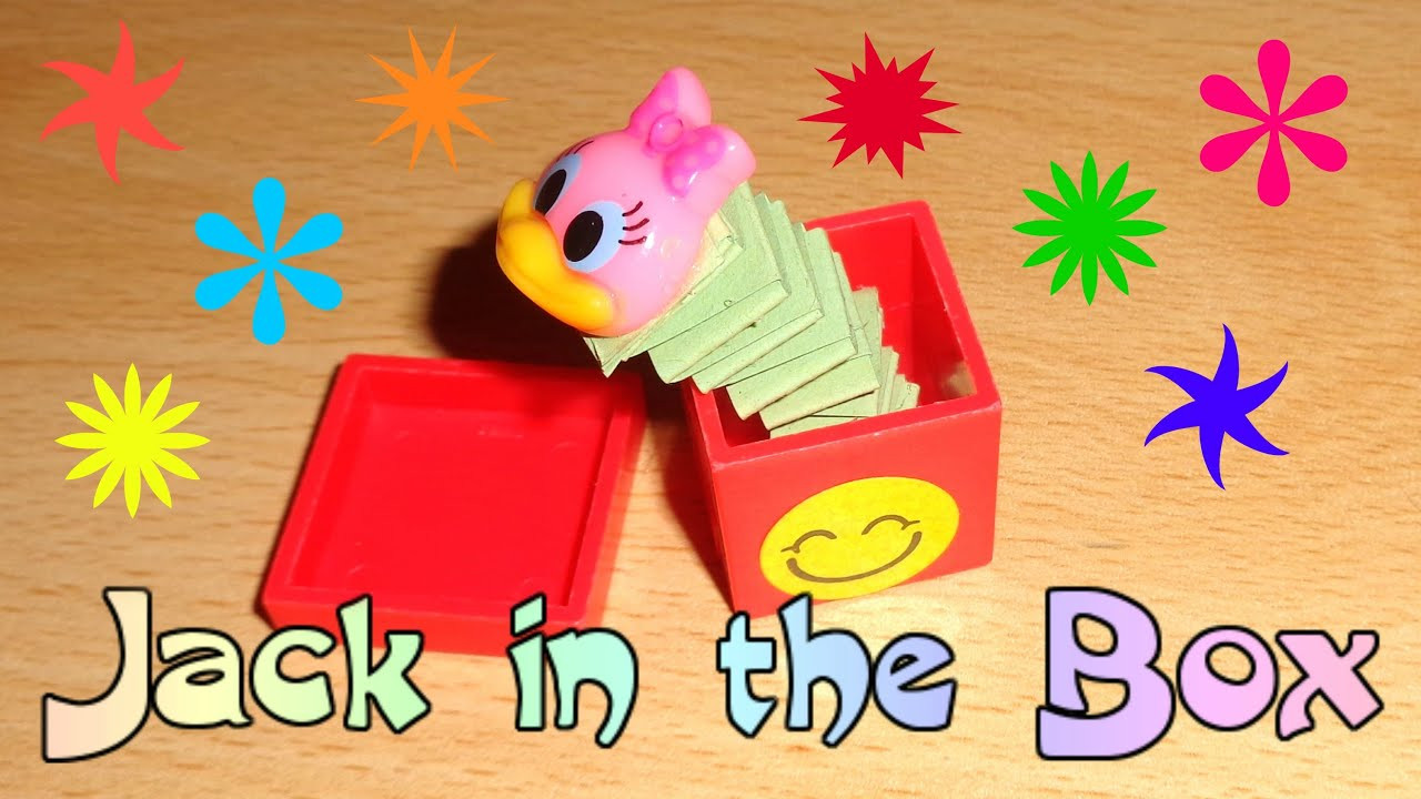 Best ideas about DIY Jack In The Box . Save or Pin Miniature Jack in the Box Toy DIY LPS Crafts Easy Doll Now.