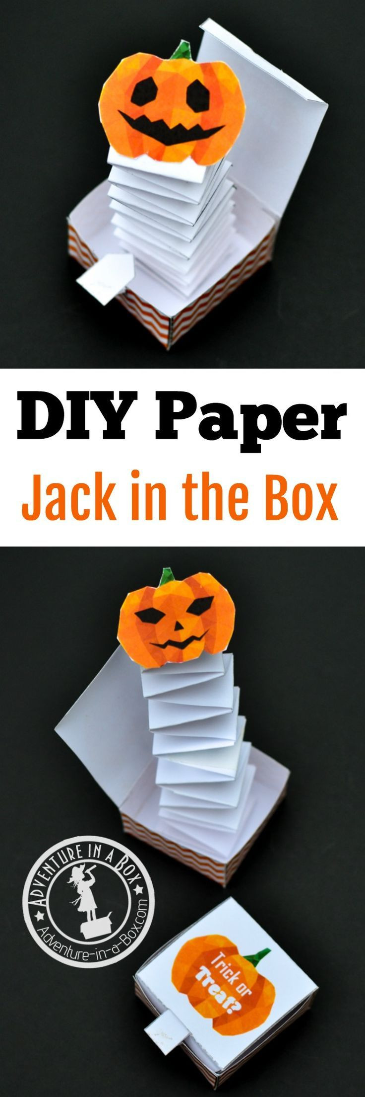 Best ideas about DIY Jack In The Box . Save or Pin 9601 best Kid Crafts Hand and Foot images on Pinterest Now.