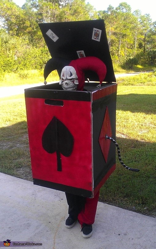 Best ideas about DIY Jack In The Box . Save or Pin Jack in the Box Costume DIY Now.