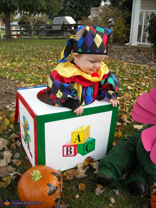 Best ideas about DIY Jack In The Box . Save or Pin Homemade Jack in the Box Costume Now.