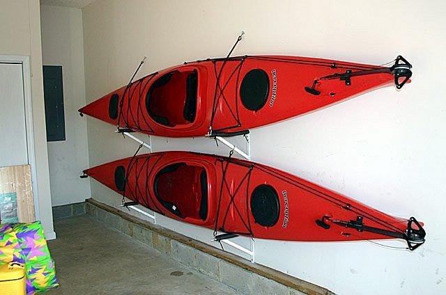 Best ideas about DIY Kayak Rack Garage . Save or Pin Kayak Pulley System Now.