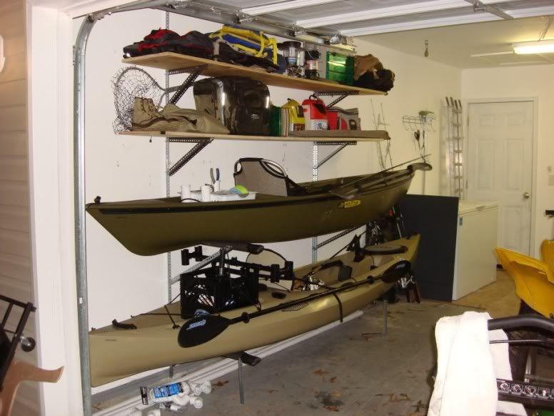 Best ideas about DIY Kayak Rack Garage . Save or Pin DIY Kayak Rack And Storage Paddling how to Now.