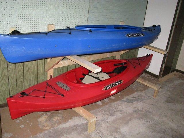 Best ideas about DIY Kayak Rack Garage . Save or Pin Best 25 Kayak storage rack ideas on Pinterest Now.