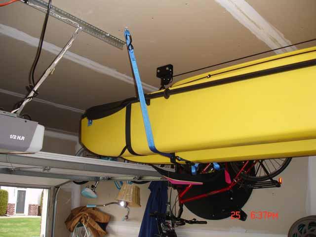 Best ideas about DIY Kayak Rack Garage . Save or Pin Initial Review of Rigged Fishing Kayak With DIY Wheel Now.