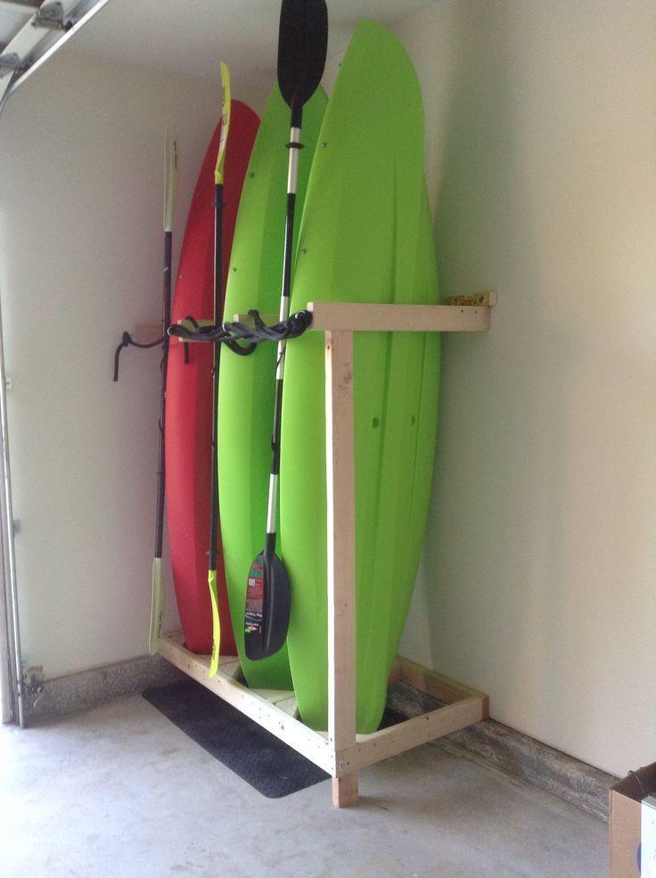Best ideas about DIY Kayak Rack Garage . Save or Pin Best 25 Canoe storage ideas on Pinterest Now.
