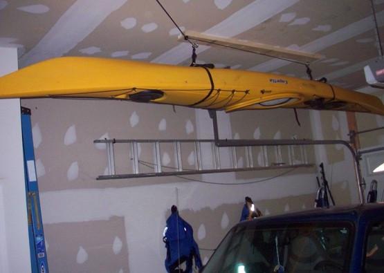 Best ideas about DIY Kayak Rack Garage . Save or Pin How To Create Kayak Garage Storage Now.
