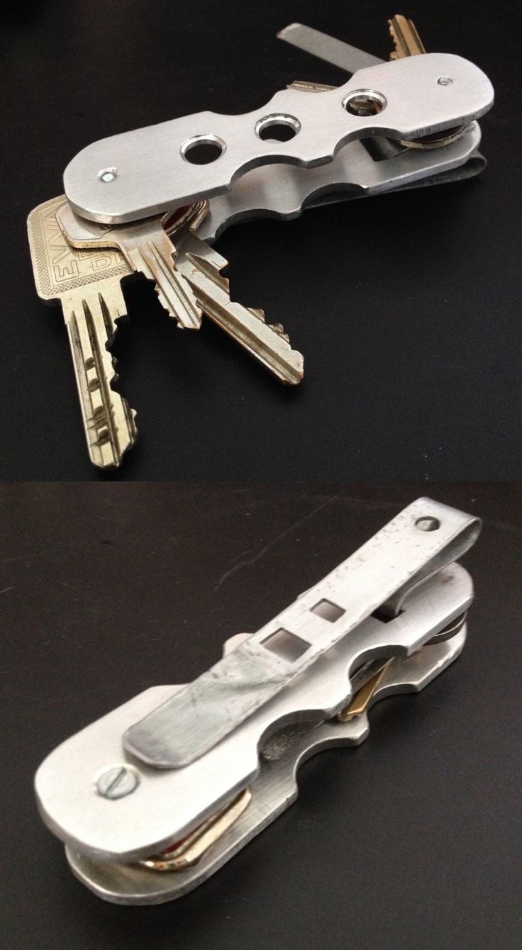 Best ideas about DIY Key Organizer . Save or Pin My DIY EDC key organizer made from aluminum with pocket Now.