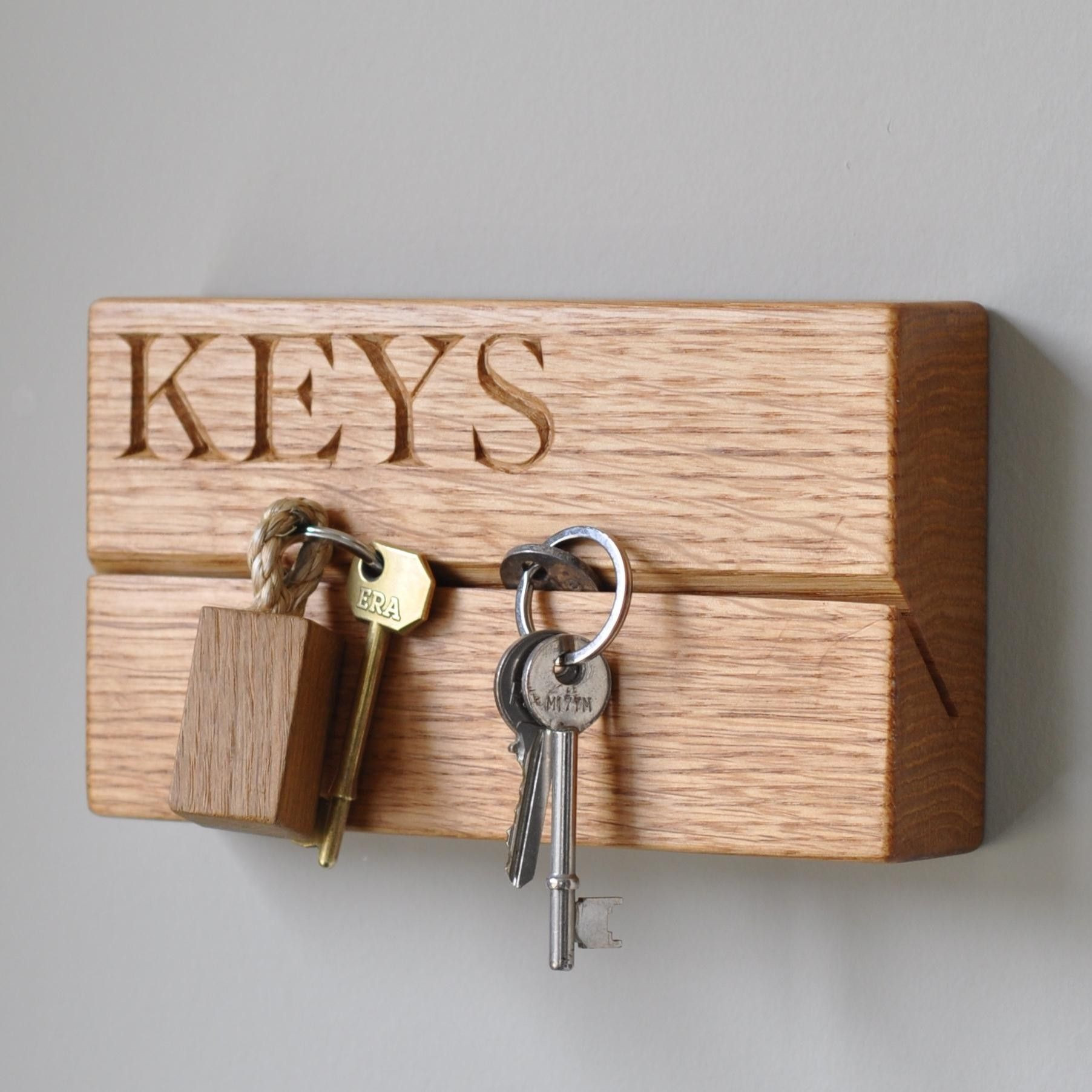 Best ideas about DIY Key Organizer . Save or Pin Wooden Key Holder The Handpicked Collection Now.