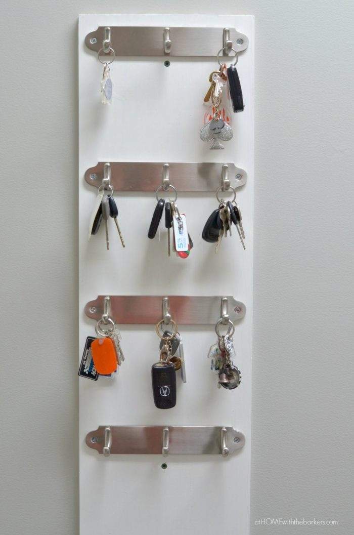 Best ideas about DIY Key Organizer . Save or Pin DIY Key Organizer At Home with The Barkers Now.