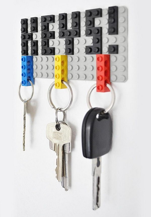 Best ideas about DIY Key Organizer . Save or Pin 20 DIY Key Holder Ideas Hative Now.