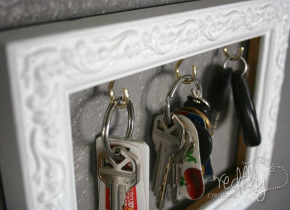 Best ideas about DIY Key Organizer . Save or Pin DIY Organization 11 Clutter Busting DIYs Bob Vila Now.