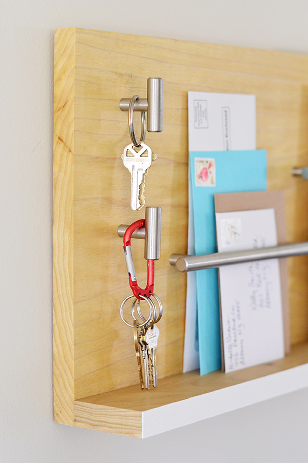 Best ideas about DIY Key Organizer . Save or Pin Stylish Wall Mail Organizer For Your Entryway Now.