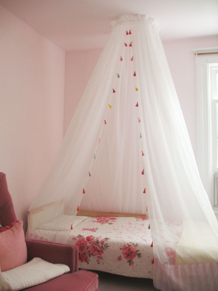 Best ideas about DIY Kids Bed Canopy . Save or Pin DIY canopy cecelia Hayes arts and crafts Now.
