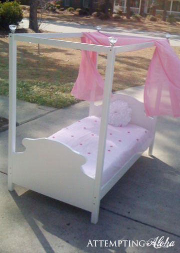 Best ideas about DIY Kids Bed Canopy . Save or Pin Now.