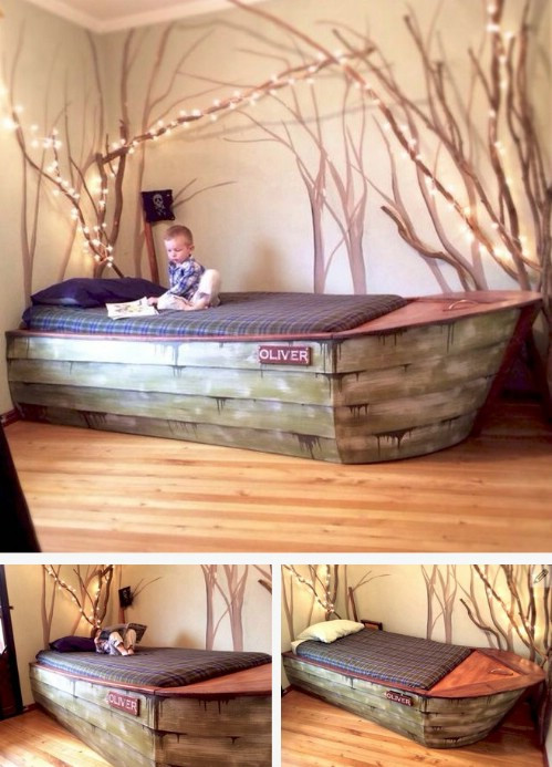 Best ideas about DIY Kids Bed Frame . Save or Pin 21 DIY Bed Frame Projects – Sleep in Style and fort Now.