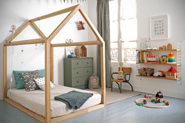 Best ideas about DIY Kids Bed Frame . Save or Pin 20 DIY Adorable Ideas for Kids Room Now.