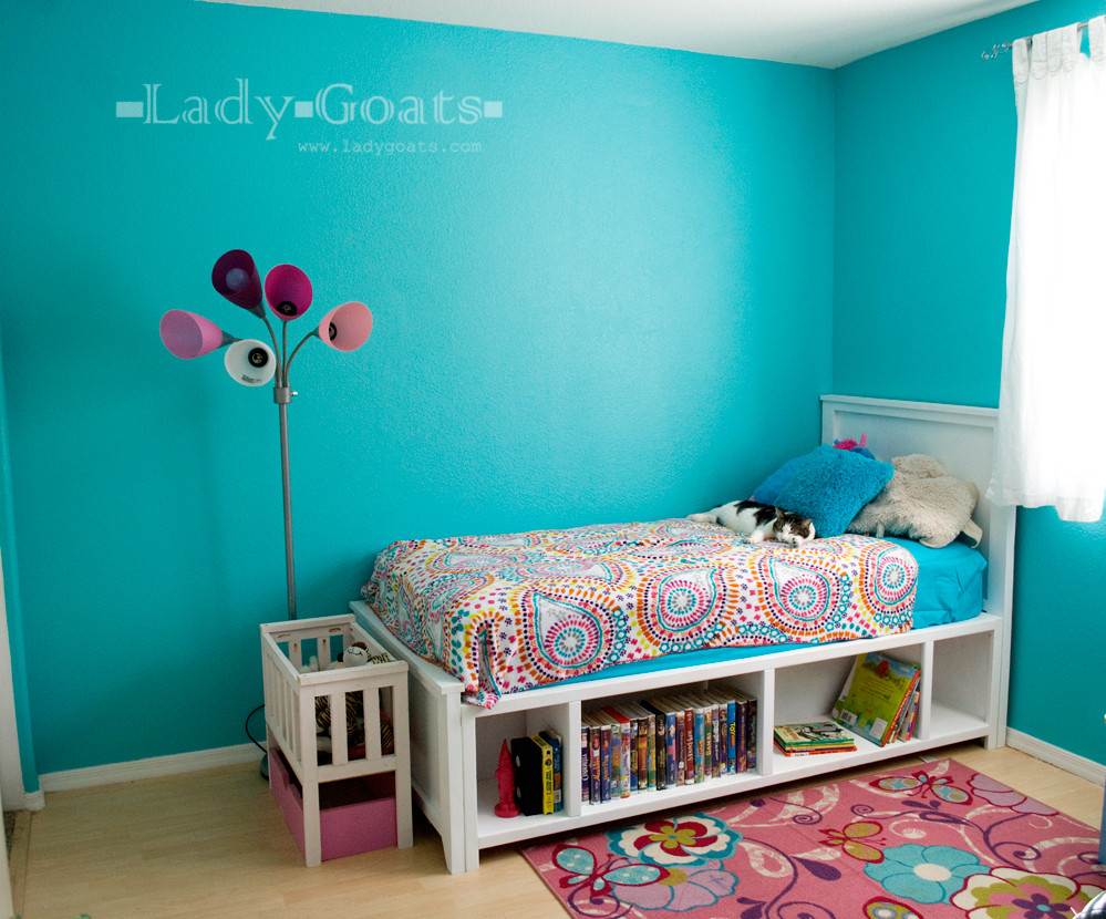 Best ideas about DIY Kids Bed Frame . Save or Pin Lady Goats 1 bed 2 days Now.