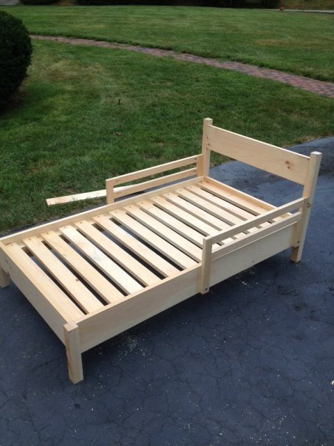 Best ideas about DIY Kids Bed Frame . Save or Pin 78 Best ideas about Toddler Bed on Pinterest Now.