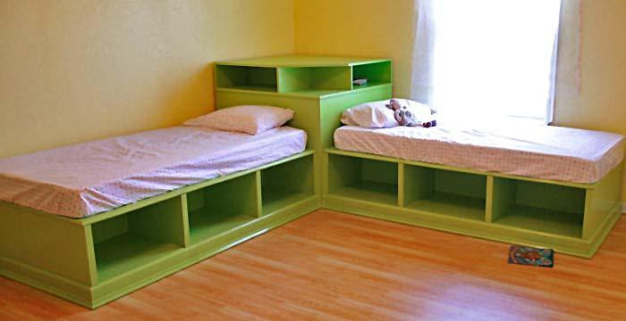 Best ideas about DIY Kids Bed With Storage . Save or Pin Ana White Now.