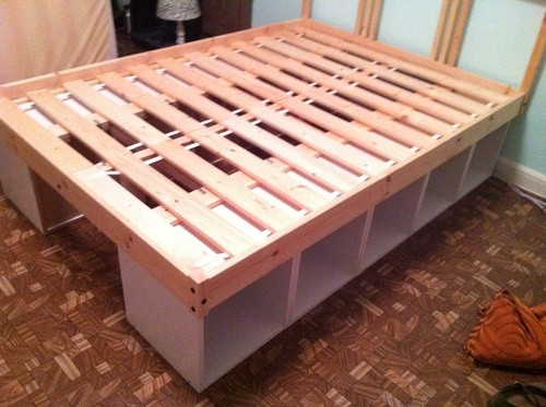 Best ideas about DIY Kids Bed With Storage . Save or Pin Ikea Hack Fjellse storage bed DIY PROJECTS Now.