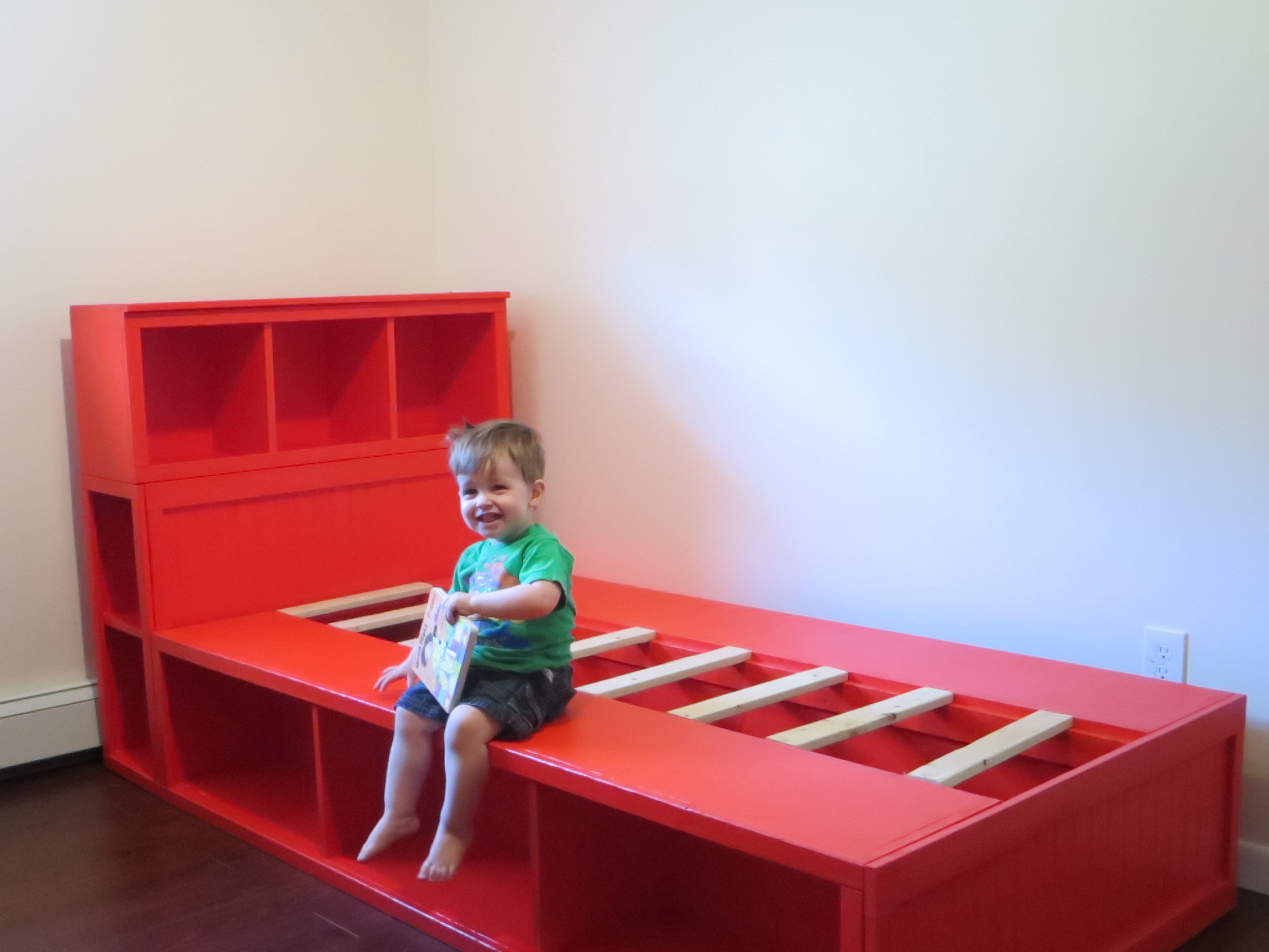 Best ideas about DIY Kids Bed With Storage . Save or Pin diy storage bed with headboard free plans from ana white Now.