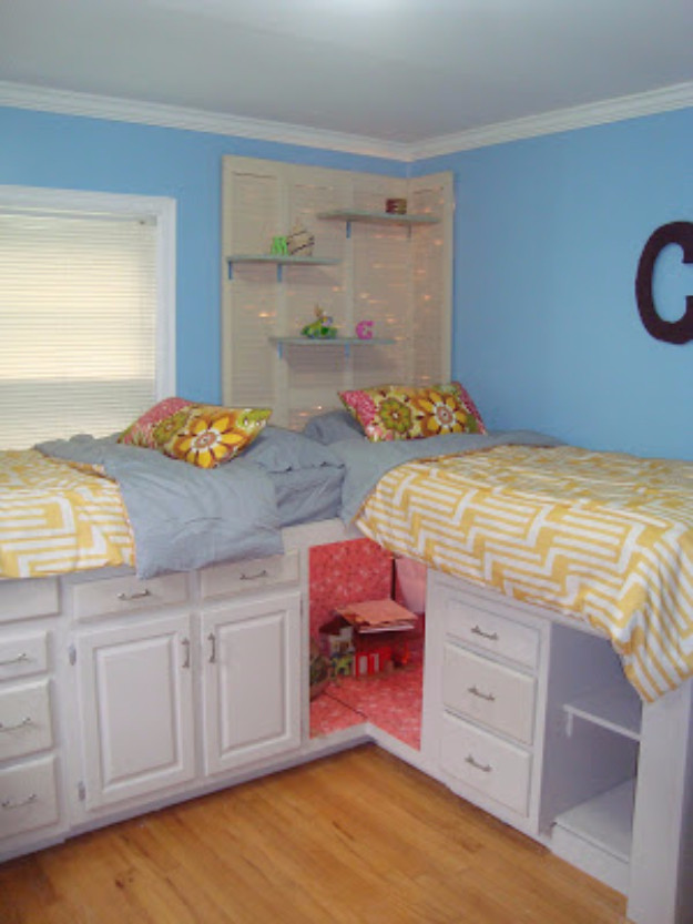 Best ideas about DIY Kids Bed With Storage . Save or Pin 30 DIY Organizing Ideas for Kids Rooms Now.