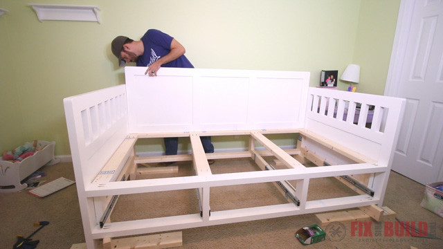 Best ideas about DIY Kids Bed With Storage . Save or Pin DIY Daybed with Storage Drawers Twin Size Bed Now.