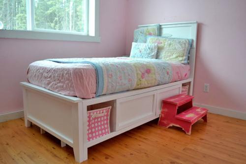 Best ideas about DIY Kids Bed With Storage . Save or Pin 10 Cool DIY Kids Beds Now.