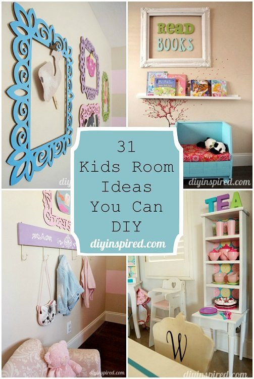 Best ideas about DIY Kids Bedroom Ideas . Save or Pin 31 Kids Room Ideas You Can DIY DIY Inspired Now.