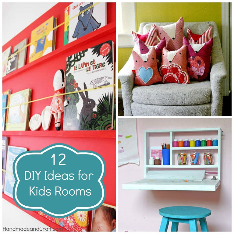 Best ideas about DIY Kids Bedroom Ideas . Save or Pin 12 DIY Ideas for Kids Rooms DIY Home Decor Now.