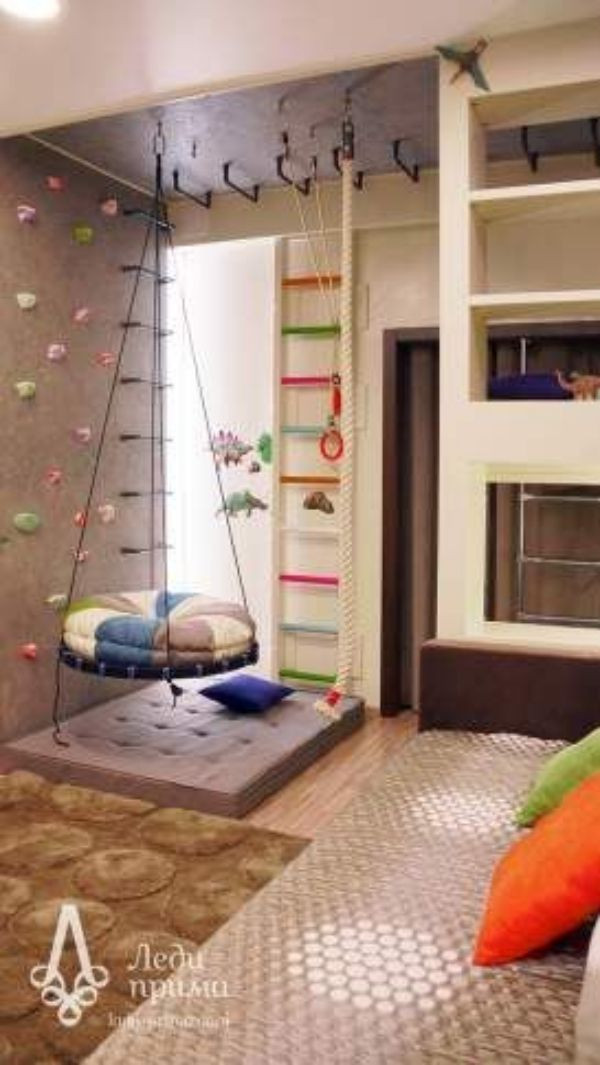 Best ideas about DIY Kids Bedroom Ideas . Save or Pin 30 Homemade DIY Swing Ideas Indoor Outdoor Now.