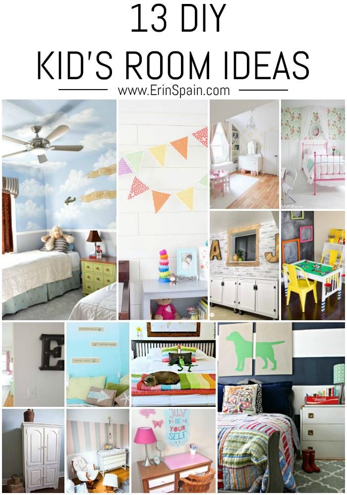 Best ideas about DIY Kids Bedrooms . Save or Pin 13 DIY Kid s Room Ideas Erin Spain Now.