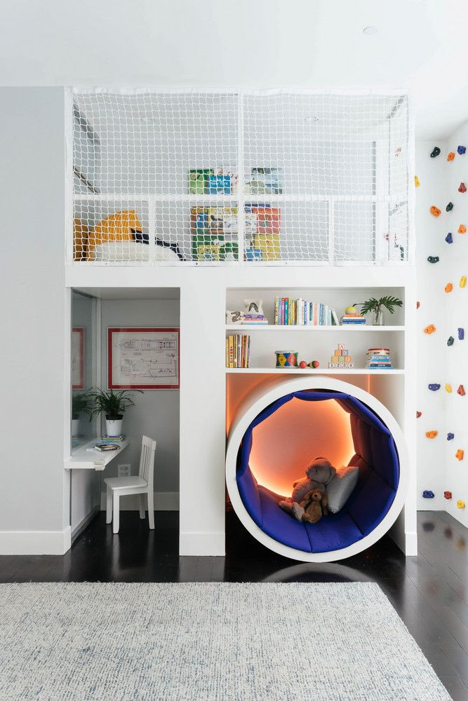 Best ideas about DIY Kids Bedrooms . Save or Pin This Colorful Kids' Room Has a Climbing Rock Wall Now.