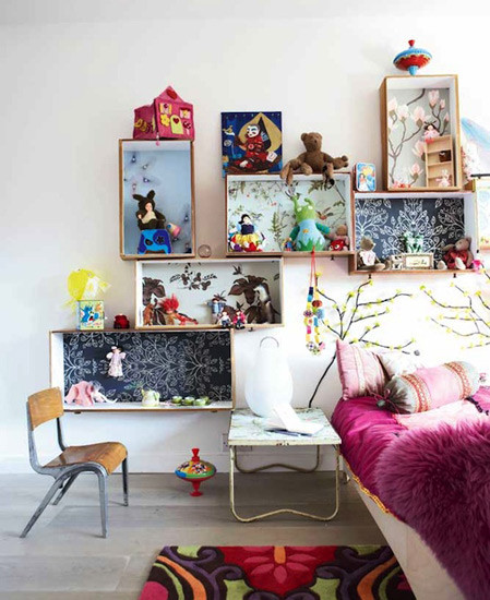 Best ideas about DIY Kids Bedrooms . Save or Pin DIY Kids Room Shelving Now.